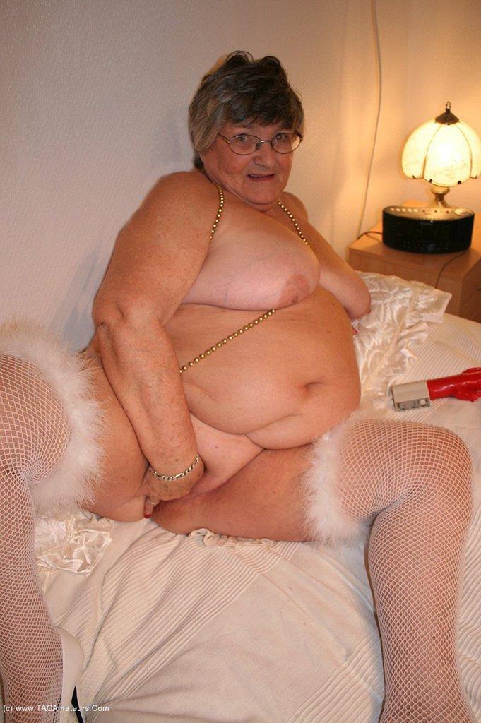 Mature granny lingerie fucking think