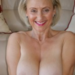 British wife flashing her melons and huge errect nipples